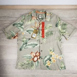 MEN'S HAWAIIAN SHIRT 100% SILK Jamaica Jaxx